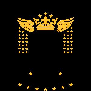 87 Bräutigam Begleit-Service Bier Krone Flügel