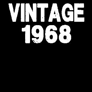 1968 50th Birthday Vintage T-Shirt