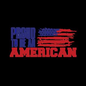 Stolz Amerikaner zu sein Independence Day