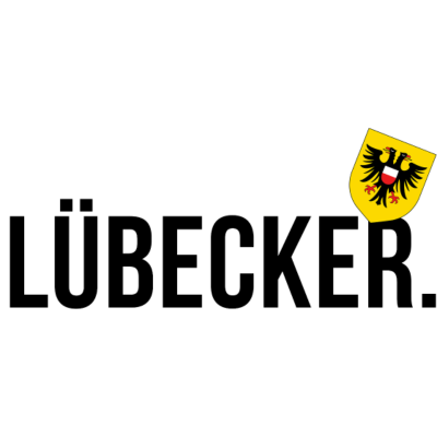 Lübecker - Zeige deine Zuneigung zur Hansestadt. Zeige, dass Du die Königin der Herzen - Lübeck - im Herzen und gerne auf deiner Brust trägst! - schleswigholstein,ostsee,nordsee,küste,Lübecker,Lübeck,Fußball