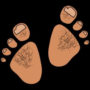Troll-Füße