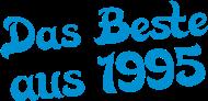Jahrgang 1990 Geburtstagsshirt: das beste aus 1995