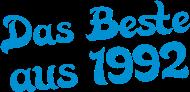 Jahrgang 1990 Geburtstagsshirt: das beste aus 1992