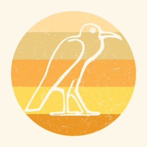 Egyptian Bird Retro
