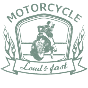 Motorcycle Loud and Fast