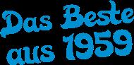 Jahrgang 1950 Geburtstagsshirt: das beste aus 1959