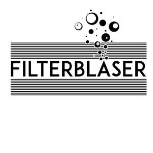 Filterbläser schwarz