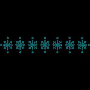 Hässliches Sternchen-Muster