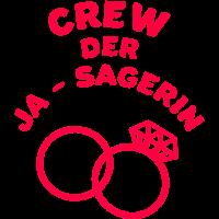 Ja Sagerin - JGA Crew Braut Party Pink