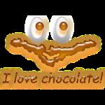 I Love Chocolate! Ich liebe Schokolade!