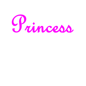Prinzessin in Pink