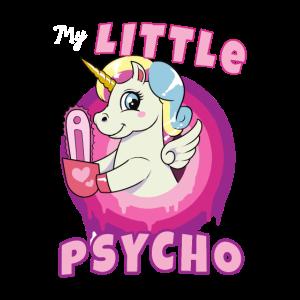 Pferd Pony Kettensäge Bund Engel Psycho