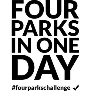 Four parks in one day challenge (dark)