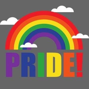 Pride Regenbogen mit Wolken | LGBT | Geschenkidee