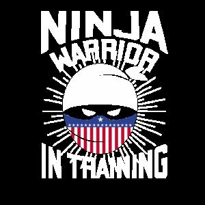 Ninja Warrior in Training - tough fighter