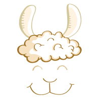 Funny Lama Gesicht - Kopf - Lamas - Geschenk