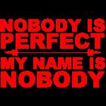 nobody rød