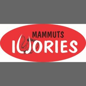 P Ivories Logo für Tassen