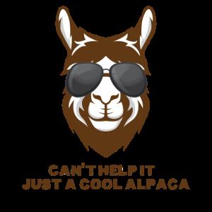 nur ein cooles Alpaka Geschenk