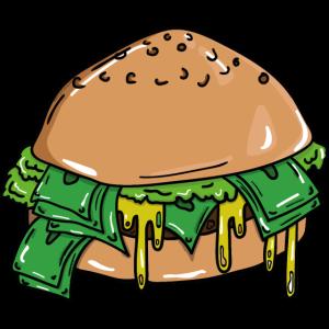 Money-Burger Geld-Burger