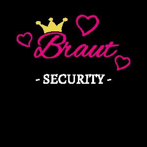 Braut Security Junggesellinnenabschied JGA