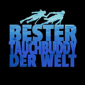 Tauchen Tauchbuddy Taucher Team Meer Geschenk