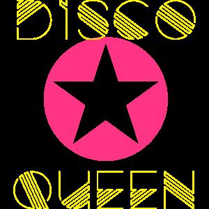 disco queen 80er jahre dance tanzen pink star girl
