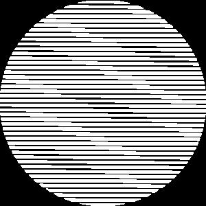 Weiß gestreifter Kreis