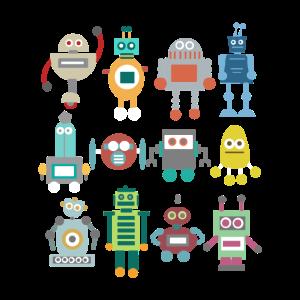 Roboter Retro