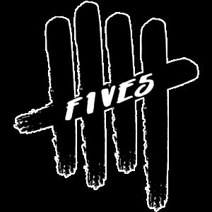 Fünfer schwarz