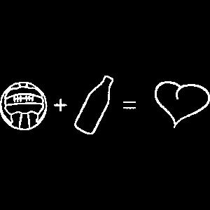 Fußball + Bier = ♥