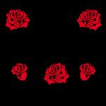 39 Mama Tattoo Herz rote Rosen Liebe Tattoo