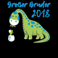 Grosser Großer Bruder 2018 Baby Nachwuchs T-Shirt