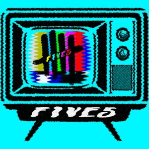 FIVES old tv broadcast