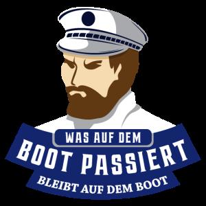Boot Segeln Kapitän Segler Kreuzfahrt Geschenk