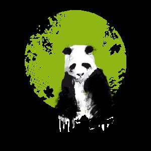 panda Save the planet Umweltschutz Ökologie Demo