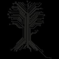 Digitaler Baum des Lebens