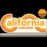CALIFORNIA DREAMIN T-Shirts