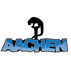 Aachen Bahkauv mit Farbverlauf