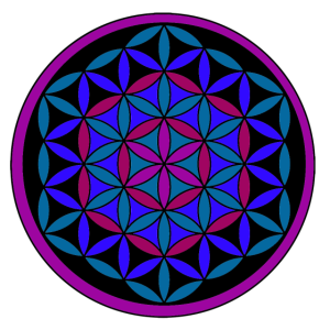 mandala flower 2