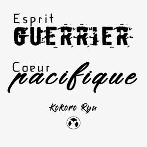 ESPRIT GUERRIER COEUR PACIFIQUE