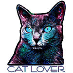CAT LOVER MULTICOLOR