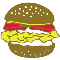 1302 Hamburger
