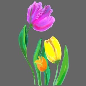 Frühling, Tulpen