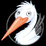 süßer Storch