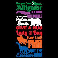 See you later Alligator Shirt Tierfreunde Geschenk