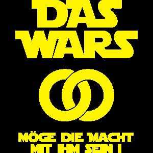 DAS WARS - Möge die Macht mit ihm sein Geschenidee