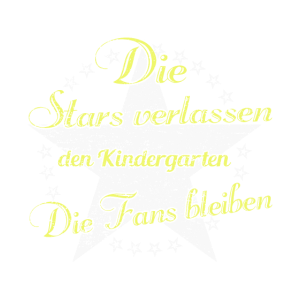 Die Stars verlassen den Kindergarten