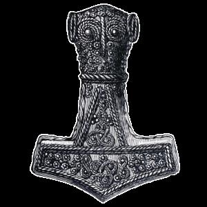 Original Thors Hammer Wikinger Keltisches Symbol