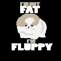 I am not Fat I am Fluppy Pomeranian Fun Haustier
